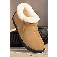 Women's Terra Sheepskin Slipper Shoes, Tobacco, Size Eu38 Western & Country