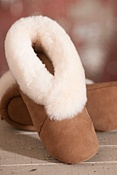 Women's Serenity Soft Sole Sheepskin Slippers