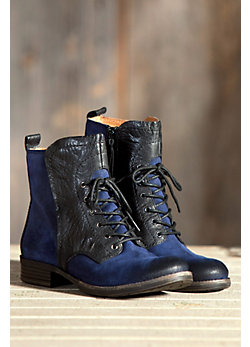 Women's Naya Agave Suede Leather Lace-Up Boots