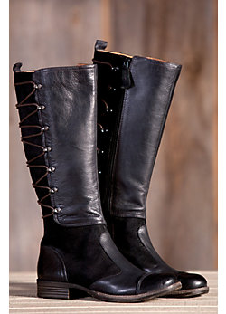 Women's Naya Apollonia Leather and Suede Tall Boots