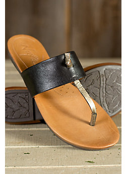 Women's Naya Crescent Leather Sandals