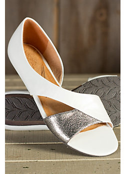 Women's Naya Heaton Two-tone Leather Flats
