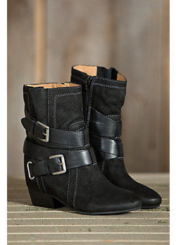 Women's Naya Fisher Suede Wedge Boots