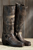 Women's Frye Harness 15R Leather Boots