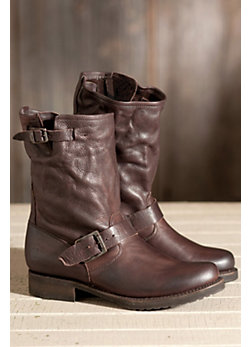 Women's Frye Veronica Shortie Leather Boots