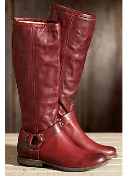 Women's Frye Phillip Harness Tall Leather Boots