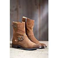 Men's Frye Jackson Suede Leather Boots, Brown, Size 12 Western & Country