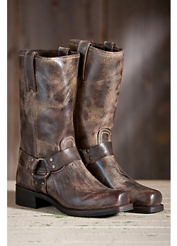 Men's Frye Harness 12R Leather Boots
