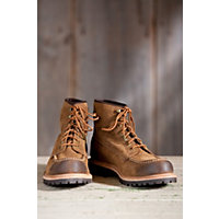 Men's Frye Dakota Mid Lace Suede Leather Boots, Fatigue, Size 12 Western & Country