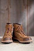 Men's Frye Dakota Mid Lace Suede Leather Boots