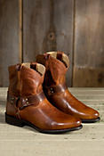 Women's Frye Wyatt Harness Leather Short Boots