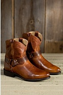 Women's Frye Wyatt Harness Short Leather Boots