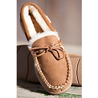 Sydney Classic Low Moc Sheepskin Slippers, Chestnut, Size M12 Western & Country