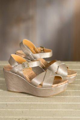 Women's Kork-Ease Ava 2.0 Leather Wedge Sandals