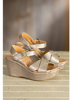 Women's Kork-Ease Ava 2.0 Leather Wedge Sandals