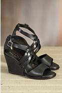 Women's Kork-Ease Adelaide Leather Wedge Sandals