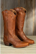 Women's Sonora Faith and Hope Leather Cowboy Boots