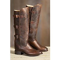 Women's Sonora Mandi Tall Leather Boots, BROWN