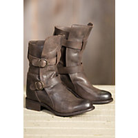 Women's Sonora Brooklyn Leather Boots, DARK BROWN