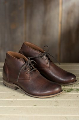 Men's Walk-Over Vaughn Leather Chukka Boots