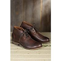 Mens Walk-Over Vaughn Leather Chukka Boots CHOCOLATE Size 9 $230.00 AT vintagedancer.com