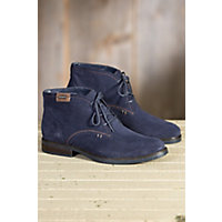 Mens Blondo Gustave Waterproof Suede Boots NAVY Size 10