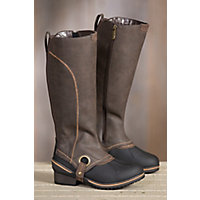 Women's Blondo Milady Waterproof Leather Boots, BROWN