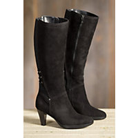 Women's Blondo Isa Waterproof Suede Boots, BLACK