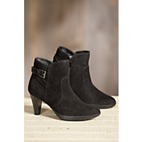 Women's Blondo Isla Waterproof Suede Boots, BLACK