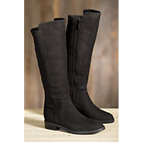 Women's Blondo Elenor Waterproof Suede Boots, BLACK