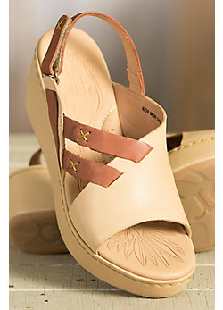 Women's Born Jacinto Leather Wedge Sandals