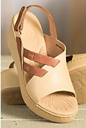 Women's Born Jacinto Leather Wedge Sandals