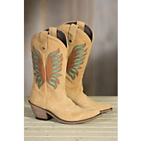 Womens Liberty Black Abano Suede Leather Boots GAMUZA ABANO Size 6