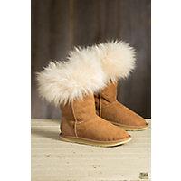 Women's Australia Luxe Collective Foxy Shearling Sheepskin Boots, CHESTNUT
