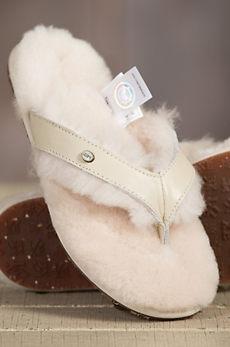 Women's Australia Luxe Collective Sheepskin Slide Sandals