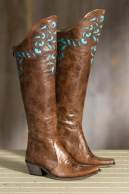 Women's Rockwell Tharp Derby Over-the-Knee Leather Boots