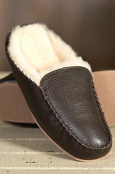 Men's Overland Bruno Sheepskin Mule Slippers