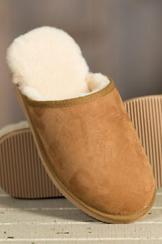 Men's Overland Carter Sheepskin Mule Slippers