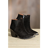 Women's Overland Nila Suede Boots, BLACK SUEDE