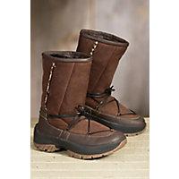 Womens Ulu Crow Shearling Boots JAVA Size 10