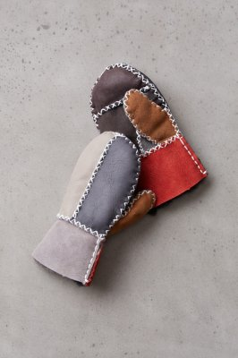 Children's Shearling Sheepskin Mittens