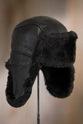Shearling Sheepskin Trooper Hat