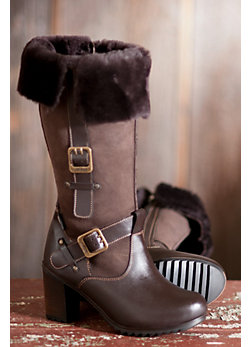 Women's Tall Andrea Shearling Sheepskin Boots