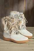Women's Pajar Livia Cowhide and Rabbit Fur Boots