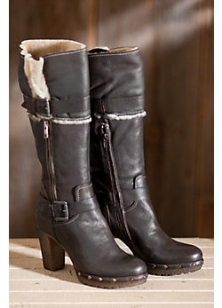 Women's Manas Gianna Leather Boots