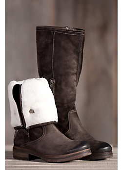 Women's Manas Angelita Suede Leather Boots