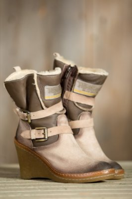 Women's Manas Annetta Suede Leather Boots