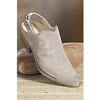 Women's Overland Dorina Suede Slingback Boots, GRIGIO