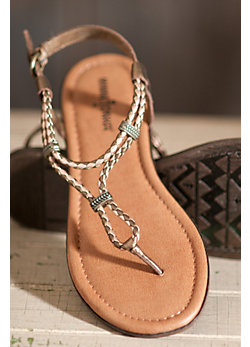 Women's Minnetonka Cayman Leather Sandals