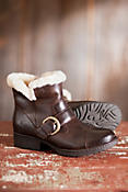 Women's Born Ilia Leather Boots with Shearling Lining
